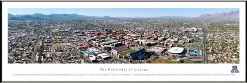 Arizona Wildcats Standard Framed Panorama