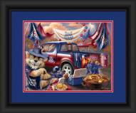 Arizona Wildcats Tailgate Framed Print