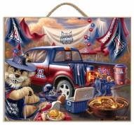 Arizona Wildcats Tailgate Plaque
