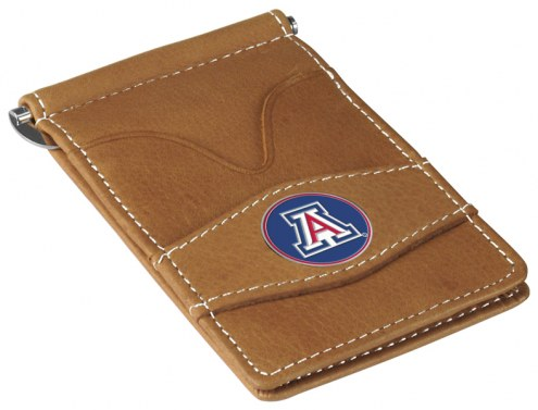 Arizona Wildcats Tan Player's Wallet