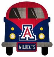 Arizona Wildcats Team Bus Sign