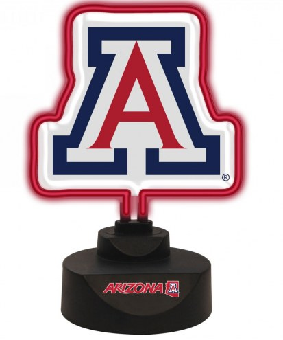 Arizona Wildcats Team Logo Neon Light