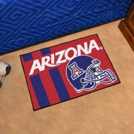 Arizona Wildcats Uniform Inspired Starter Rug