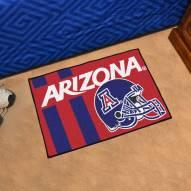 Arizona Wildcats Uniform Inspired Starter Rug
