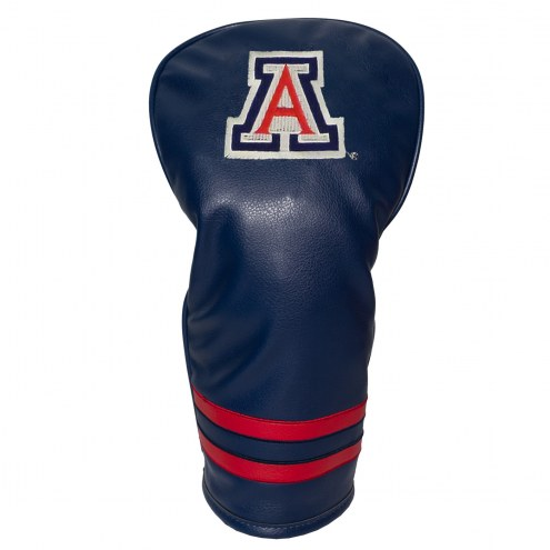 Arizona Wildcats Vintage Golf Driver Headcover