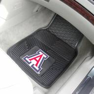 Arizona Wildcats Vinyl 2-Piece Car Floor Mats