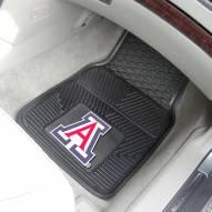 Arizona Wildcats Vinyl 2-Piece Car Floor Mats