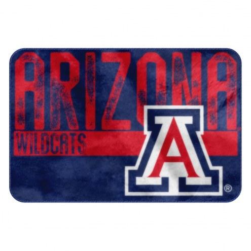 Arizona Wildcats Worn Out Bath Mat
