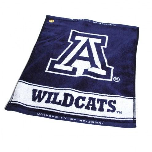 Arizona Wildcats Woven Golf Towel