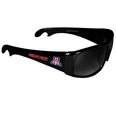 Arizona Wildcats Wrap Bottle Opener Sunglasses