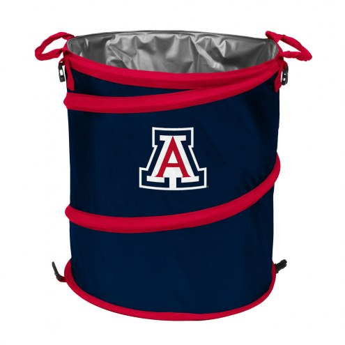Arizona Wildcats Collapsible Trashcan