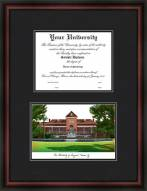 Arizona Wildcats Diplomate Framed Lithograph with Diploma Opening