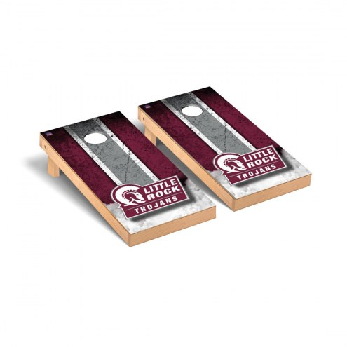 Arkansas Little Rock Trojans Mini Cornhole Set
