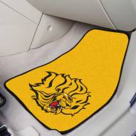 Arkansas-Pine Bluff Golden Lions 2-Piece Carpet Car Mats