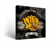 Arkansas-Pine Bluff Golden Lions Banner Canvas Wall Art