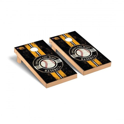 Arkansas-Pine Bluff Golden Lions Baseball Cornhole Game Set