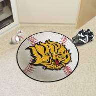 Arkansas-Pine Bluff Golden Lions Baseball Rug