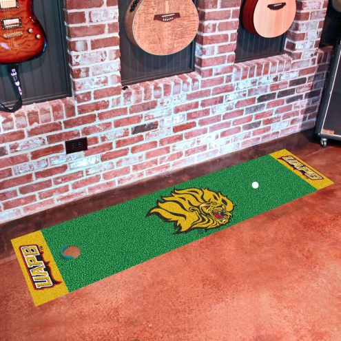 Arkansas-Pine Bluff Golden Lions Golf Putting Green Mat
