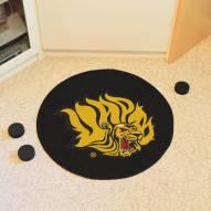 Arkansas-Pine Bluff Golden Lions Hockey Puck Mat