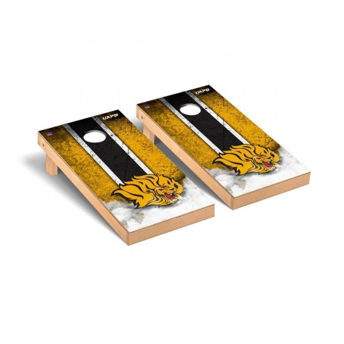 Arkansas-Pine Bluff Golden Lions Mini Cornhole Set
