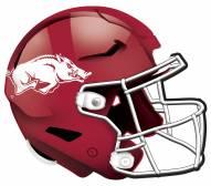 "Arkansas Razorbacks 12"" Helmet Sign"