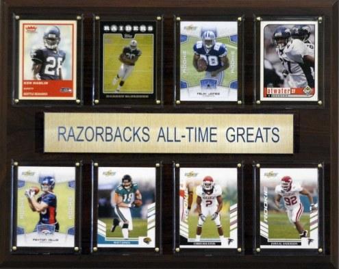 "Arkansas Razorbacks 12"" x 15"" All-Time Greats Plaque"