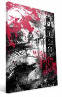 "Arkansas Razorbacks 16"" x 24"" Spirit Canvas Print"