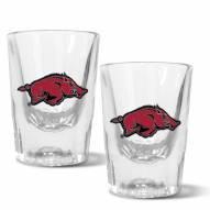 Arkansas Razorbacks 2 oz. Prism Shot Glass Set