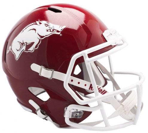 Arkansas Razorbacks Riddell Speed Collectible Football Helmet