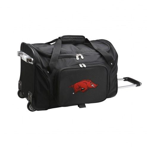 "Arkansas Razorbacks 22"" Rolling Duffle Bag"