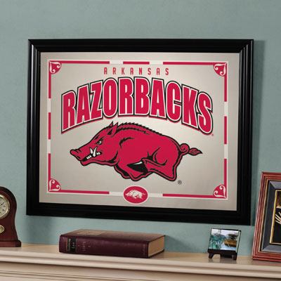 "Arkansas Razorbacks 23"" x 18"" Mirror"
