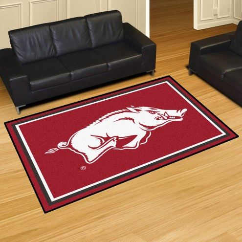 Arkansas Razorbacks 5' x 8' Area Rug