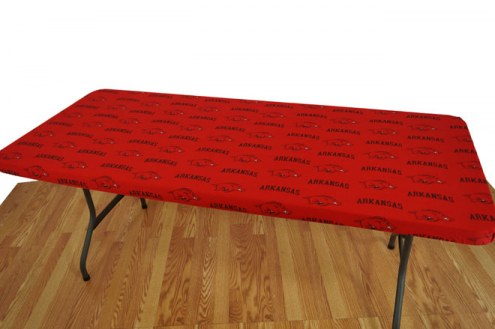Arkansas Razorbacks 6' Logo Table Cover