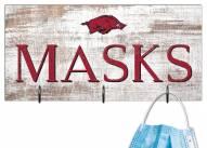 "Arkansas Razorbacks 6"" x 12"" Mask Holder"
