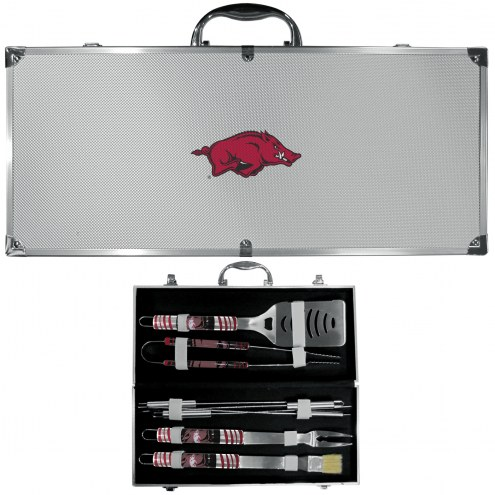 Arkansas Razorbacks 8 Piece Tailgater BBQ Set