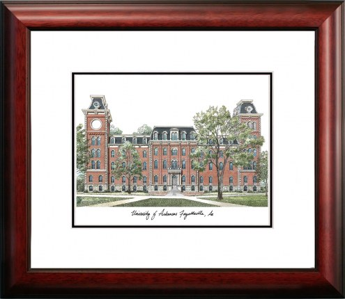 Arkansas Razorbacks Alumnus Framed Lithograph