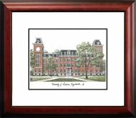 Arkansas Razorbacks Alumnus Framed Lithograph