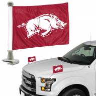 Arkansas Razorbacks Ambassador Hood & Trunk Car Flag