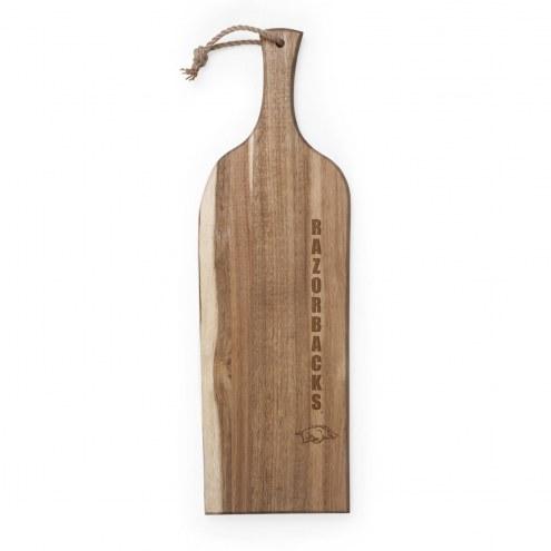 "Arkansas Razorbacks Artisan 24"" Acacia Serving Plank"