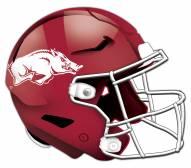 Arkansas Razorbacks Authentic Helmet Cutout Sign