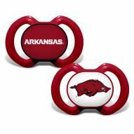 Arkansas Razorbacks Baby Pacifier 2-Pack
