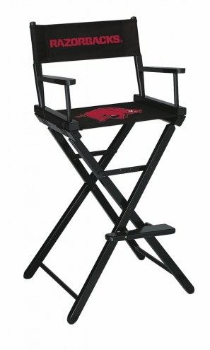 Arkansas Razorbacks Bar Height Director's Chair