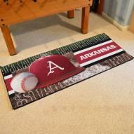 Arkansas Razorbacks Baseball Runner Rug