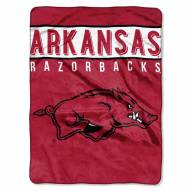 Arkansas Razorbacks Basic Plush Raschel Blanket