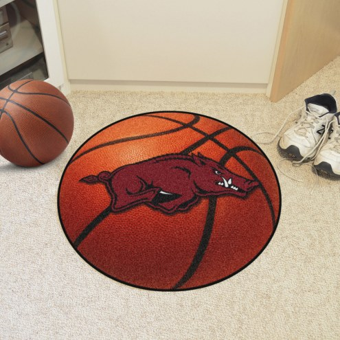 Arkansas Razorbacks Basketball Mat