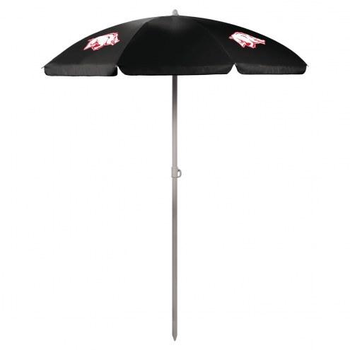 Arkansas Razorbacks Beach Umbrella
