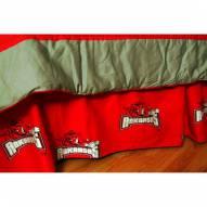Arkansas Razorbacks Bed Skirt