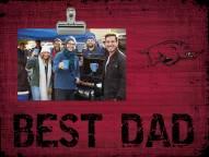Arkansas Razorbacks Best Dad Clip Frame