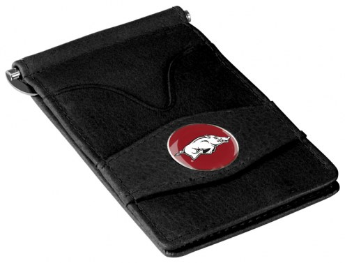 Arkansas Razorbacks Black Player's Wallet