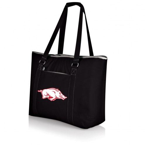 Arkansas Razorbacks Black Tahoe Beach Bag